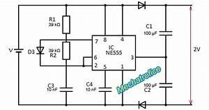 dc to dc voltage doubler schematic mechatrofice With 555 dc voltage doubler circuit