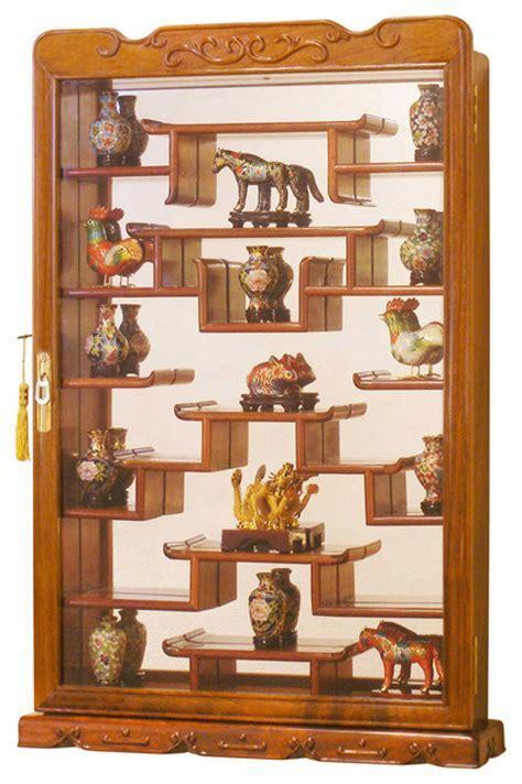 54 Curio Wall Display Shelves, Vintage WOODEN CURIO