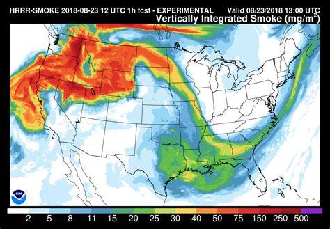 Wildfire smoke brings haze, while weekend brings more
