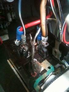Black Wire With White Stripe Headlight Switch