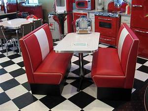 Table A Diner : diner booth sets home kitchen retro deco cornerbooths ~ Teatrodelosmanantiales.com Idées de Décoration