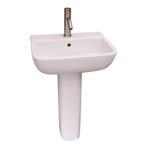 menards mansfield pedestal sink barclay series 600 pedestal sink 8 quot widespread at menards 174