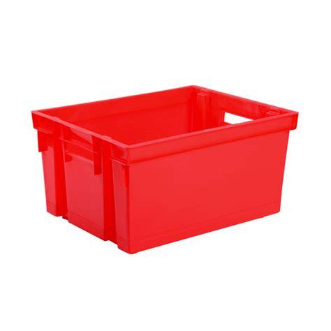grande poubelle cuisine eda plastiques caisse de rangement bac manutention 30 l