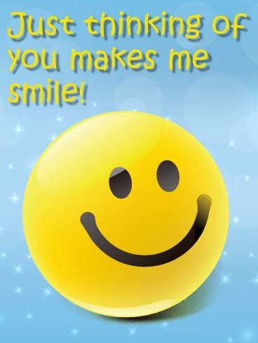 smiley face thinking   card birthday greeting