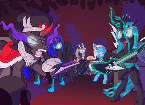 gallery queen chrysalis  nightmare moon  discord