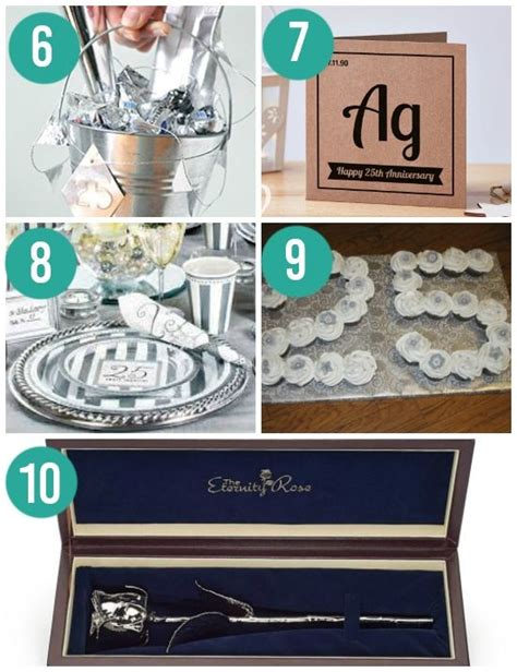 best 25 25th anniversary gifts ideas on pinterest diy