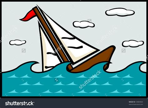 Sinking Boat Vector by Sink Boat Clipart Clipground