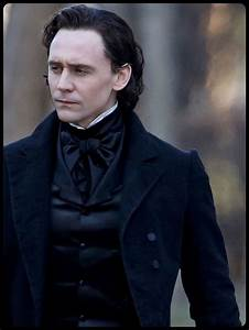 Tom + black hair + period costume = you KNOW this is gonna ...