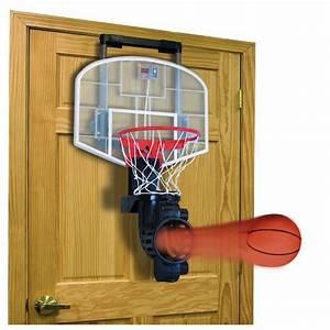 Auto Ball Return Over the Door Basketball Hoop -Craziest ...