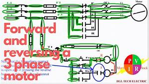 Forward Reverse Control Circuit Wiring Diagram