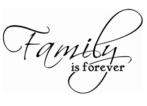 childrens wall decals family is forever grafix wall