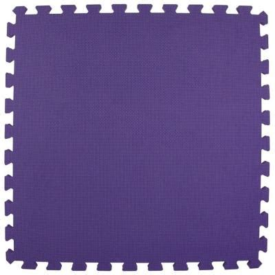 norsk 25 x 25 floor mats greatmats premium purple 24 in x 24 in x 5 8 in foam