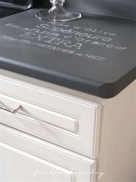 chalk paint on laminate kitchen cabinets 5 ways to use chalk paint countertops paint countertops