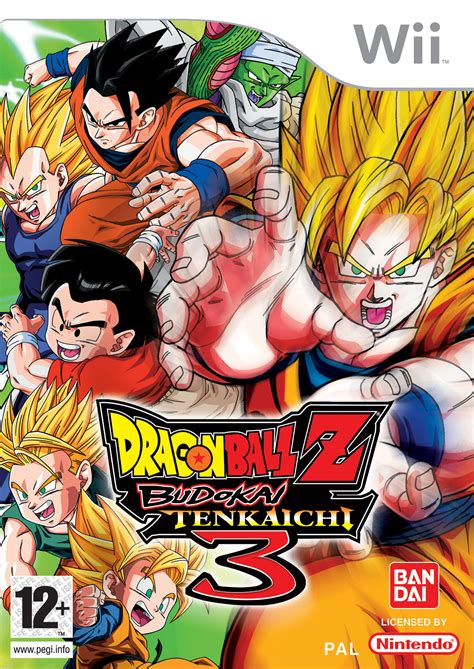 Dragon Ball Z Budokai Tenkaichi 3 Per Wii Gamestormit