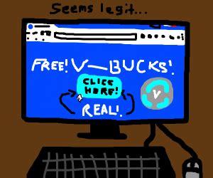 kid falls     bucks generator scam drawception