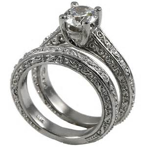 cubic zirconia wedding ring sets 14k gold antique style wedding set cz cubic zirconia ring cubic zirconia jewelry cz rings in