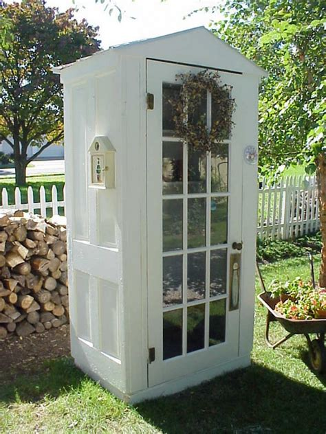 tool shed diy four door shed the owner builder network