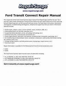 2010 Ford Transit Owners Manual