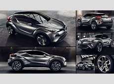 Toyota CHR Concept 2015 pictures, information & specs