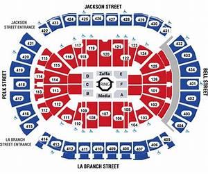Rockets Seating Chart Ufc Fight Night Houston Toyota Center