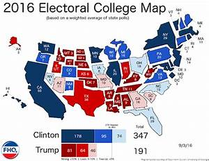 Frontloading HQ: The Electoral College Map (9/3/16)