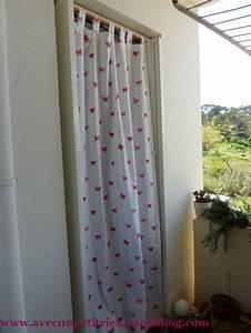 Rideau Pour Balcon : nouveau rideau pour le balcon avec un petit rien ~ Premium-room.com Idées de Décoration