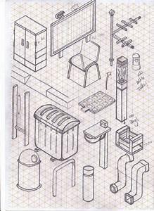 13 Best Isometric Grid Art Images On Pinterest