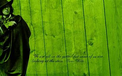 Oscar Wilde Quotes Gutter Background Wood Wallpapers