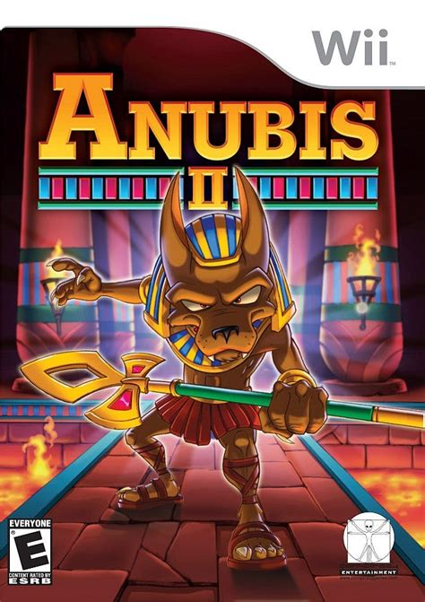 anubis wii ii game games wikipedia bad data interactive ign north american 2007 rated boxart