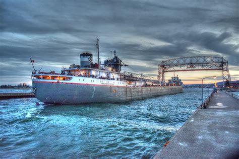 Ship Bridge by Duluth Ship Schedule Lift Bridge Arrivals Departures