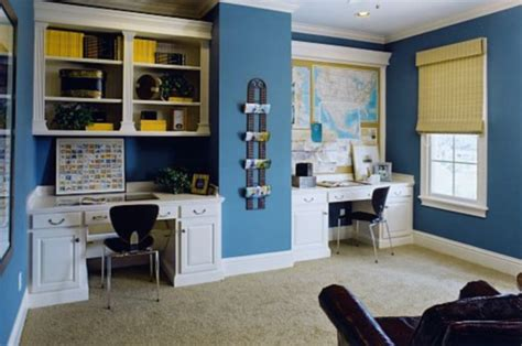 home office color schemes to create a working environment