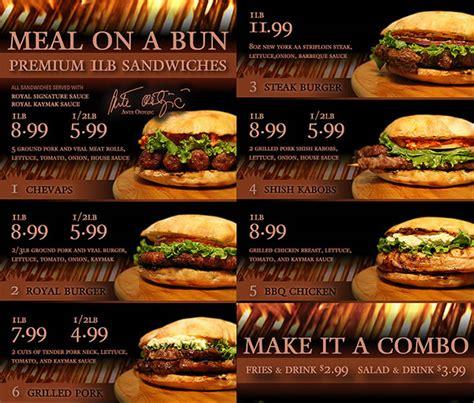 Sofa King Burger Menu by The World S Catalog Of Ideas