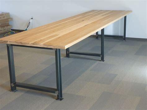 metal desk legs rustic table legs square metal industrial frames custom