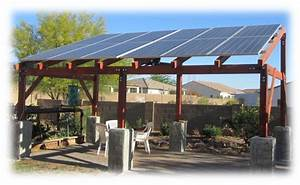 Solar Pergola Lights Gallery Abco Solar Inc