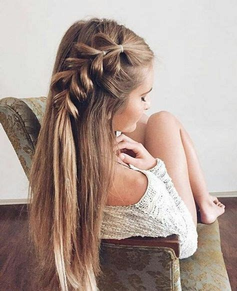 cute easy summer hairstyles  long hair braided