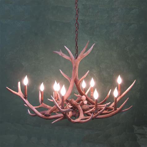 pin antler ls chandelier shop on