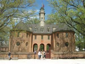 Colonial Williamsburg Capitol Building in VA