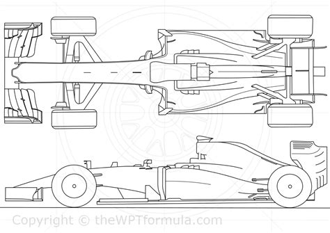 Caracteristicas Template by Williams F1 Car 2015 Sketch Coloring Page