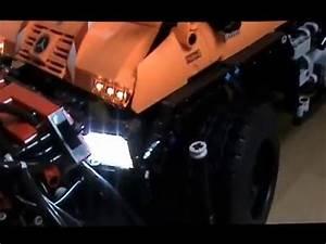 Lego Led Beleuchtung : lego technic video nr 1 unimog u400 8110 mit komplett led beleuchtung youtube ~ Orissabook.com Haus und Dekorationen