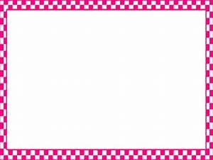 Pink Checkerboard Frame Clip Art at Clker.com - vector ...