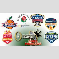201415 College Football Playoff New Year's Six Bowl Previews  Sports Unbiased