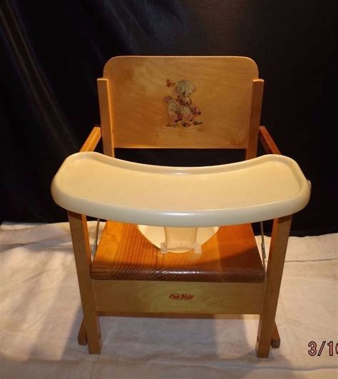 Toddler Potty Chairs With Trays by Vintage Oak Hill Child S Wooden Potty Chair With Tray