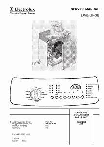 Electrolux Aw2100aa Service Manual Download  Schematics