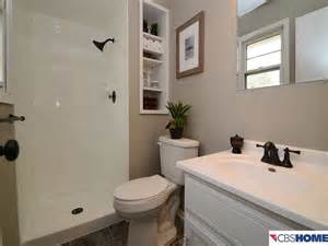 bathroom after remodeling on a tight budget omaha by