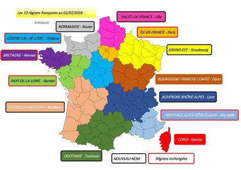Carte Région Administrative Vierge by Carte De Des 13 R 233 Gions 187 Vacances Arts Guides