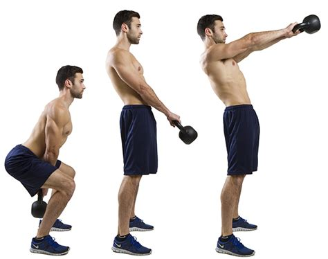 kettlebell swings exercise hiit lunges swing kettle bell exercises alternating kettlebells weight raise workouts jump fitness gym training fat heavy