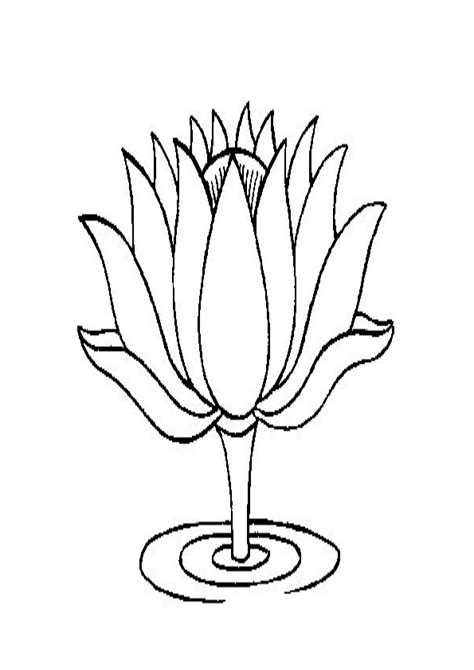Flower Drawing Coloring Pages | Best Flower Site