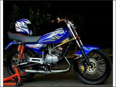 Modif Rx King Biru by 21 Modifikasi Rx King Warna Biru Terbaru 2019