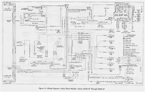 1958 Gmc Wiring Diagram by Wiring Diagram Of 1954 Gmc Early Diesel Models Series D620