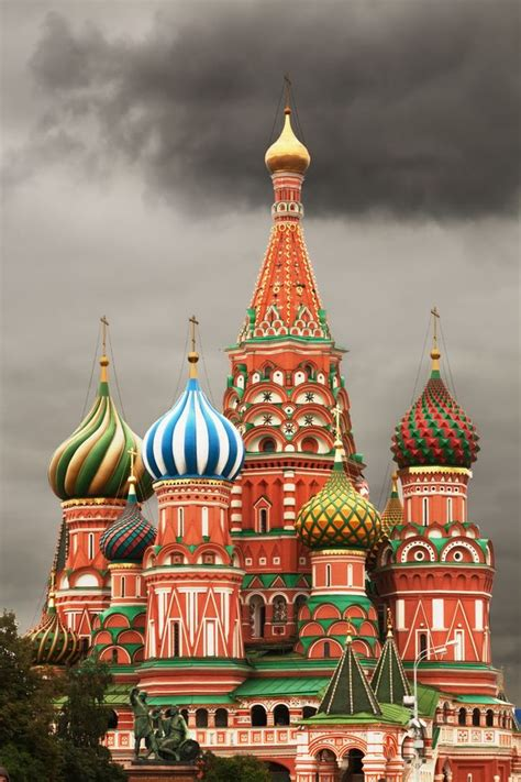 saint basils cathedral moscow russia  love